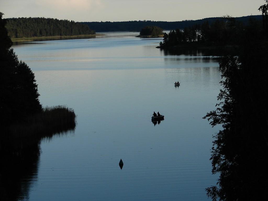 Vaneren, Sweden, day 2
