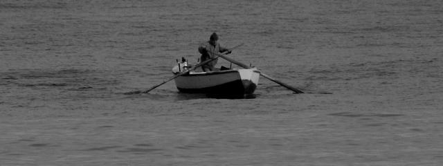 Boat in Bari by Heidenstrom