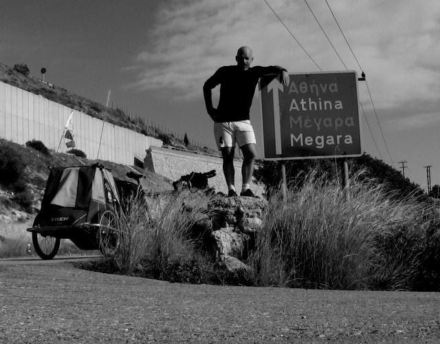 Self shot in Hellas by Heidenstrom