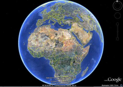 sykkel kart Norge - Sør Afrika..:-)