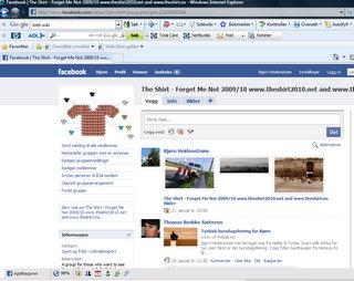 The Shirt Facebook group