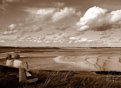 The beach in Ireland by Heidenstrøm