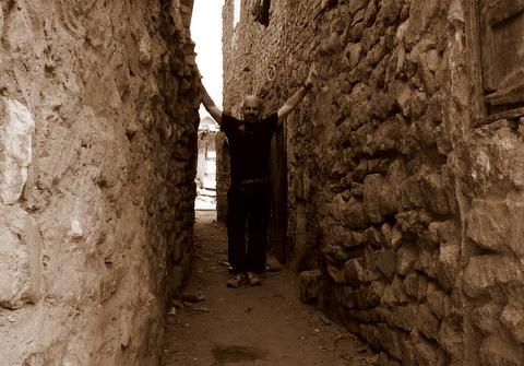 Bjorn Heidenstrom in Egypt by Ahmed