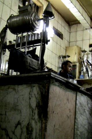 Vannkoker ala Kairo