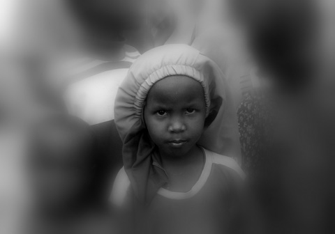 A face in Kakuma Refugee camp by Heidenstrom