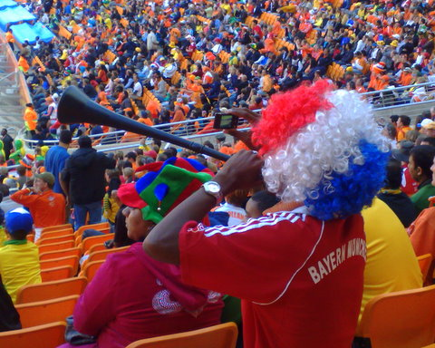 The German or African Vuvuzela man - by Heidenstrom