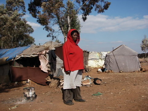 Refugees in South Africa by Heidenstrom