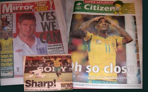 Fresh news in Johannesburg - @heidenstrom