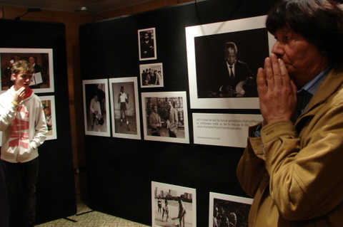 George Hallet and his Mandela photos by Heidenstrom