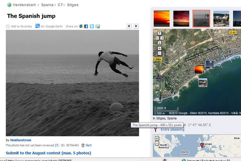 Geotagging on nett