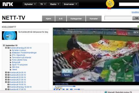The Shirt og TV Aksjonen på NRK