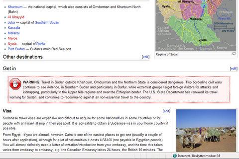 Hva skjer når du Googler Sudan - av Bjørn Heidenstrøm