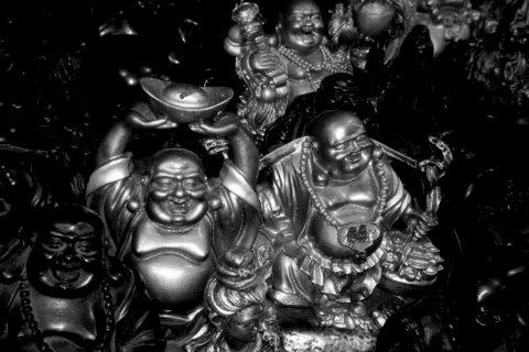 Buddah & Budda i Hua Hin av @heidenstrom