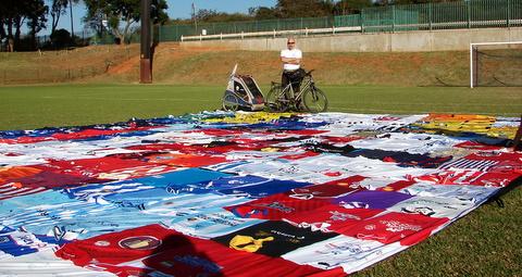 Johannesburg og dagen med FIFA TV, Foto Marianne Grinaker