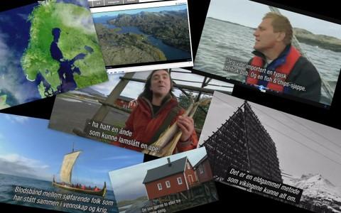 Collage BBC av Bjørn Heidenstrøm