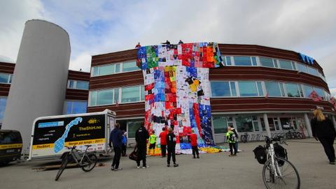 Tromsø_Alfheim_Bjorn@heidenstrom #troms #theshirt #cycling theshirt.no theshirt2010.net